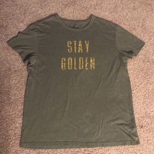 Stay Golden American Eagle Tee
